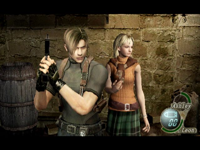 Leon and Ashley, RE4