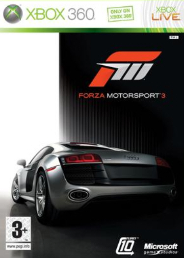 Forza Motorsport 3 box art (PAL) - I couldn't find a decent US NTSC version anywhere