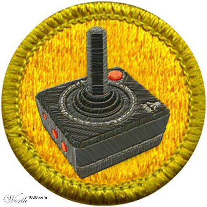 Video Game Merit Badge