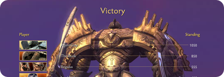 Demigod Victory Screen